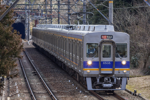 日本の鉄道、南海高野線の写真素材 [FYI04295096]