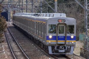 日本の鉄道、南海高野線の写真素材 [FYI04295097]