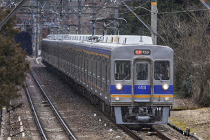 日本の鉄道、南海高野線の写真素材 [FYI04295098]