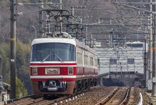 日本の鉄道、南海電鉄特急りんかん号の写真素材 [FYI04295131]