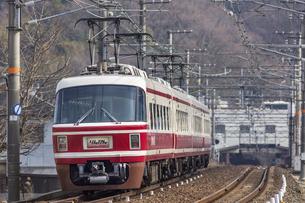 日本の鉄道、南海電鉄特急りんかん号の写真素材 [FYI04295132]