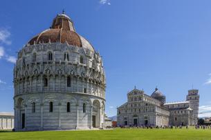イタリア、ピサの大聖堂の写真素材 [FYI04295174]