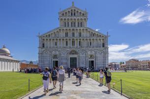 イタリア、ピサ大聖堂の写真素材 [FYI04295178]
