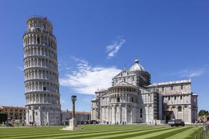 イタリア、ピサの斜塔の写真素材 [FYI04295254]