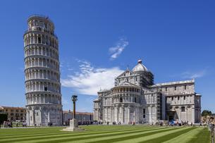 イタリア、ピサの斜塔の写真素材 [FYI04295261]