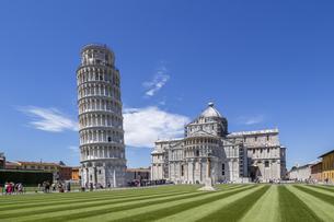 イタリア、ピサの斜塔の写真素材 [FYI04295310]