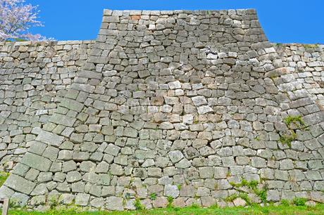 丸亀城の石垣の写真素材 [FYI04295497]