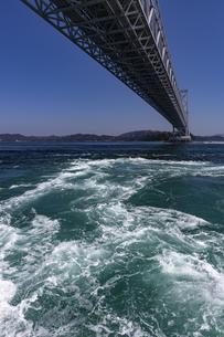 観潮船からの鳴門渦潮の写真素材 [FYI04296107]