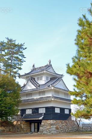 吉田城鉄櫓の写真素材 [FYI04296545]