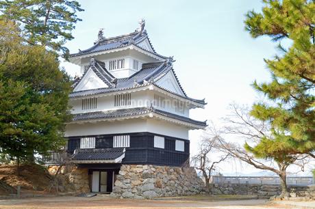 吉田城鉄櫓の写真素材 [FYI04296546]
