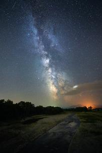 天の川の写真素材 [FYI04296752]