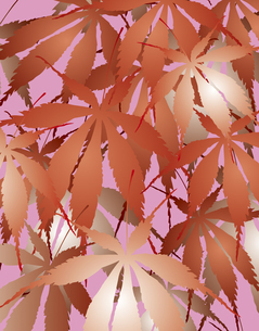 植物柄のパターンのイラスト素材 [FYI04297058]