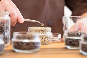 コーヒー豆の写真素材 [FYI04297132]
