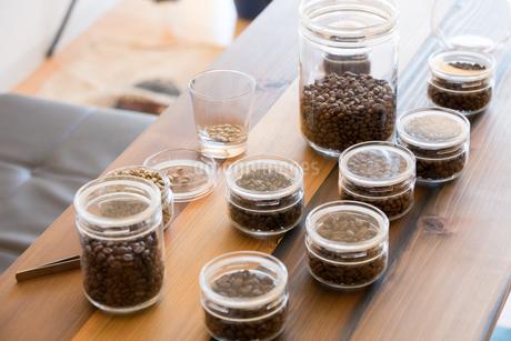 コーヒー豆の写真素材 [FYI04297135]