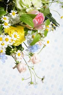 春の花のフラワーアレンジメントの写真素材 [FYI04297212]