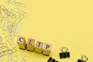 clip アルファベットスタンプをならべて単語にした素材の写真素材 [FYI04297249]