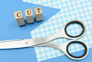 cut アルファベットスタンプをならべて単語にした素材の写真素材 [FYI04297257]