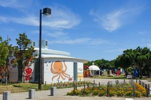 宇多津臨海公園 道の駅うたづ臨海公園の写真素材 [FYI04298096]