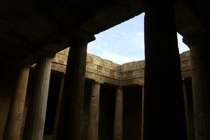 キプロスの遺跡 キプロスの古代神殿の写真素材 [FYI04298108]