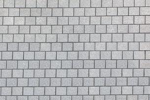 四角の石材タイルの背景素材の写真素材 [FYI04299062]
