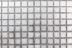 四角の石材タイルの背景素材の写真素材 [FYI04299066]