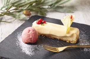 チーズケーキの写真素材 [FYI04299135]