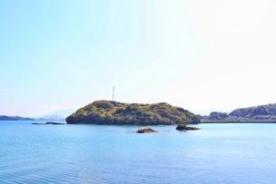 長崎県福島市の海の風景の写真素材 [FYI04299827]