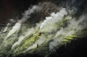 箱根ジオパークのひとつ大涌谷の写真素材 [FYI04300237]