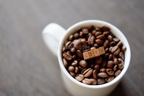 コーヒー豆の写真素材 [FYI04300263]
