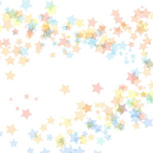 星くず背景イラストのイラスト素材 [FYI04300352]