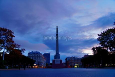 ラトビア 自由記念碑の写真素材 [FYI04300751]