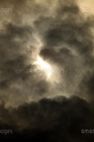 金環日食 2012年5月 日本 Annular solar eclipse 太陽 月の写真素材 [FYI04300887]
