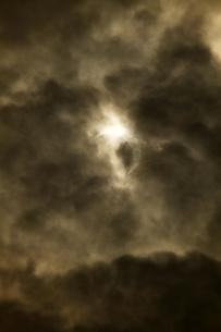 金環日食 2012年5月 日本 Annular solar eclipse 太陽 月の写真素材 [FYI04300890]