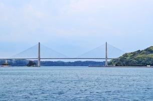 佐賀県唐津市呼子大橋の写真素材 [FYI04301038]