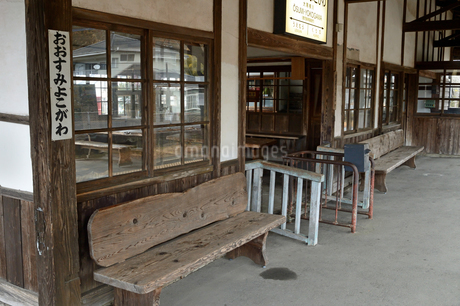 JR大隈横川駅の写真素材 [FYI04301201]