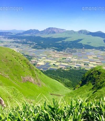 熊本 阿蘇 景色の写真素材 [FYI04301299]
