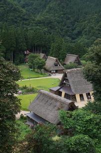 五箇山の風景 相倉合掌造り集落の写真素材 [FYI04301620]