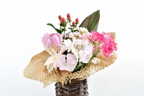 花瓶の花の写真素材 [FYI04301672]
