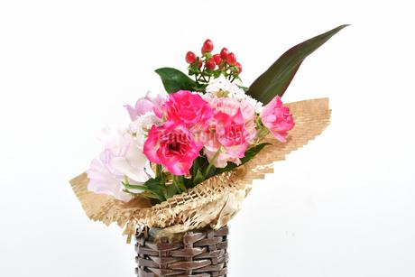 花瓶の花の写真素材 [FYI04301673]