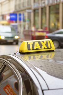 タクシー ウィーン オーストリアの写真素材 [FYI04302060]