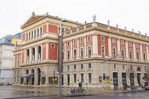 ウィーン楽友協会ホール オーストリアの写真素材 [FYI04302063]