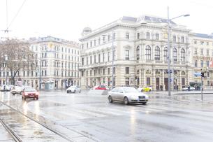 ウィーン  リンク通りの街並み オーストリアの写真素材 [FYI04302065]