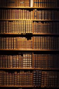 オーストリア国立図書館 本棚 ウィーンの写真素材 [FYI04302075]