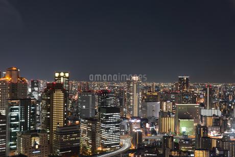 都市の夜景の写真素材 [FYI04302240]
