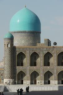 世界遺産のモスク ビビハニムモスク ウズベキスタン サマルカンドの写真素材 [FYI04302347]