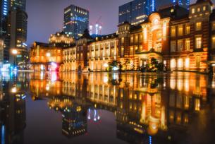 東京駅の写真素材 [FYI04302562]