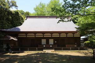 箱根旧東海道沿いにある北條五代の霊が眠る早雲寺の写真素材 [FYI04302996]