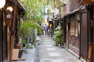 京都の街並みの写真素材 [FYI04303478]
