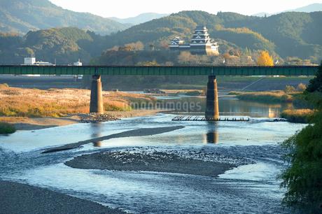 大洲市肱川の風景の写真素材 [FYI04303682]