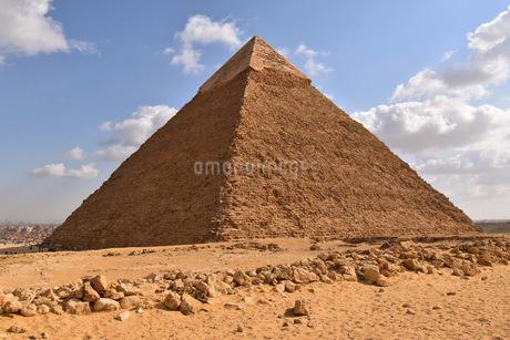 カフラー王のピラミッドの写真素材 [FYI04303986]